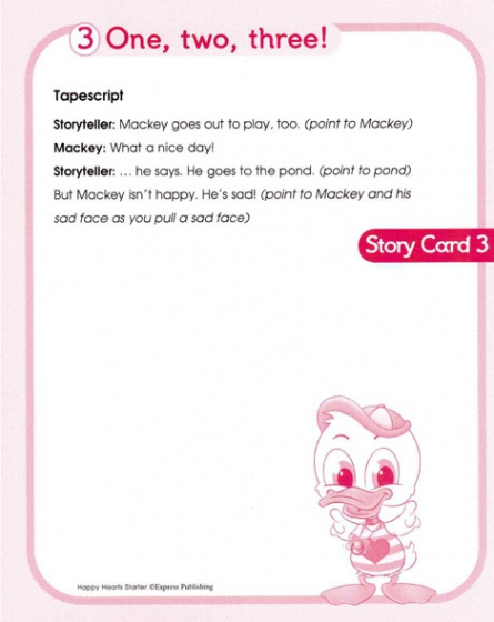 Happy Hearts Starter - Story Cards