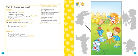 Happy Hearts 1 - Pupil´s Book (+ Stickers, Press out & Extra optional units)
