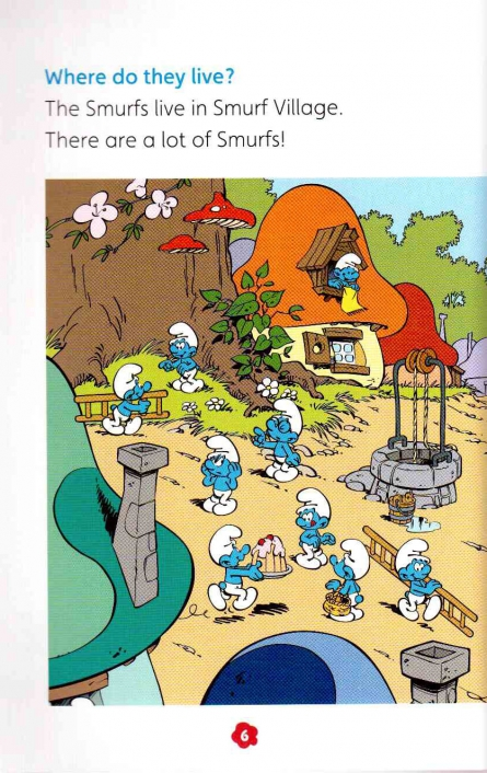 Popcorn ELT Readers Starter: the Smurfs - Who are the Smurfs with CD