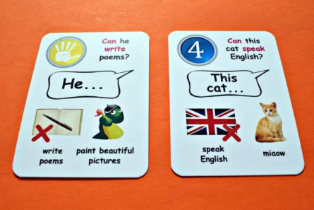 Creativo - Fun card English Can/Can´t