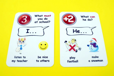 Creativo - Fun card English Modal Verbs