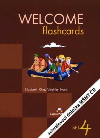 Welcome 2 - picture flashcards - set 4 - laminated