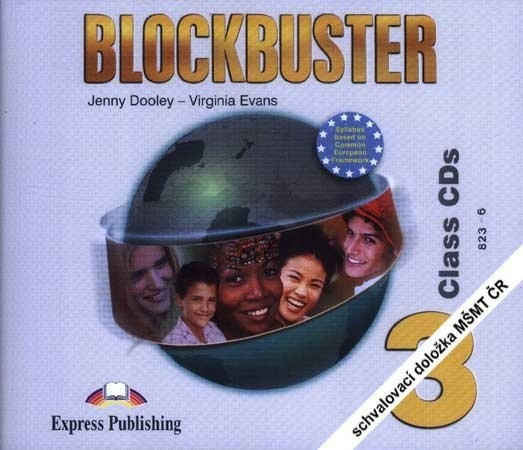 Blockbuster 3 - class audio CDs (4)