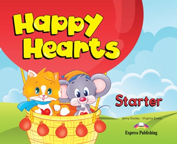 Happy Hearts Starter - Pupil´s Book(+ Stickers, Press Outs & multi-ROM PAL)