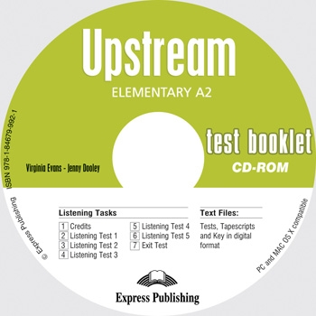 Upstream Elementary A2 - Test Booklet CD-ROM