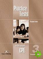 Practice Tests for the Revised CPE 3 - Teacher´s Book (overprinted)