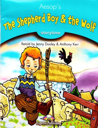 Storytime 1 The Shepherd Boy & the Wolf - TB + audio CD/DVD PAL