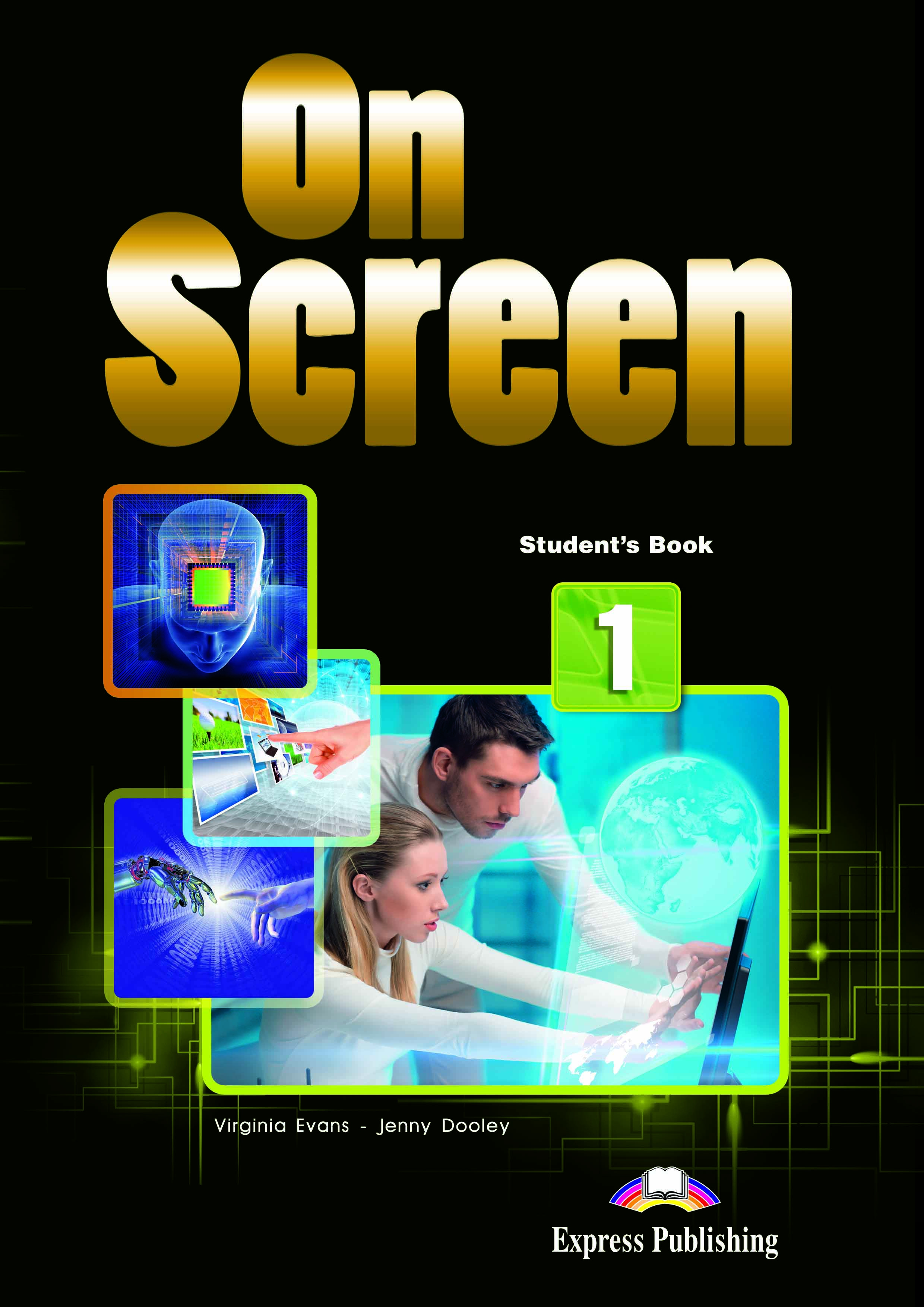On Screen 1 - Student´s Book with Digibook App (Black edition)