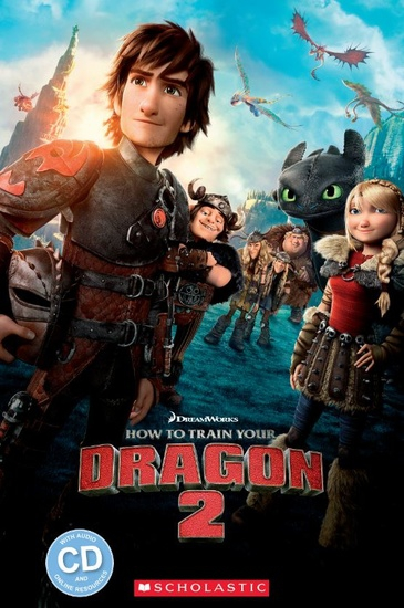 Popcorn ELT Readers 2: How to train your - Dragon 2 with CD