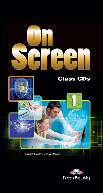 On Screen 1 - Class CDs (set of 5) (Black edition)