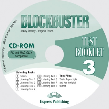 Blockbuster 3 - test booklet CD-ROM