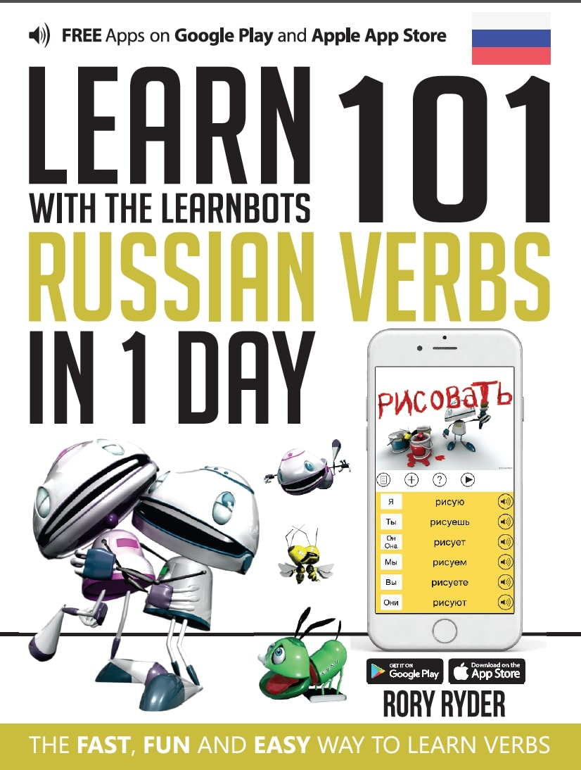 Learn with the LearnBots 101 - Russian verbs